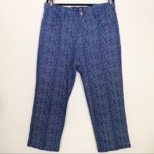 Venezia for Lane Bryant Snakeskin Print Jeans, 18